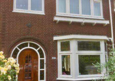 Buitenschilderwerk aan monumentaal pand Rijksstraatweg Heiloo
