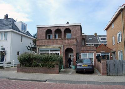 Buitenschilderwerk aan vrijstaande woning in Haarlem