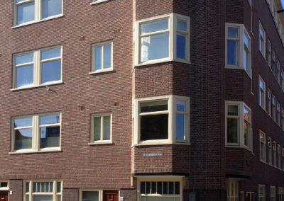 Buitenschilderwerk appartementencomplex Amsterdam