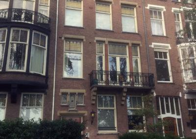 Buitenschilderwerk Valleriusplein Amsterdam