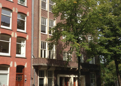 Buitenschilderwerk appartementencomplex Nic. Maesstraat Amsterdam